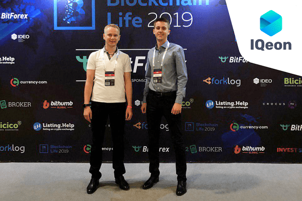 IQeon – Blockchain Life 2019 Vadim Dovguchitz