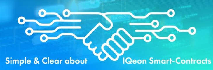 IQeon will adopt smart contracts to boost the productivity of the platform