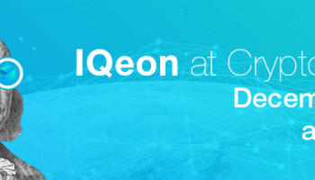 IQeon Showcases the Platform at CryptoFest 2017