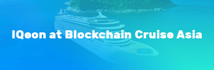 IQeon Team is Taking Part in Blockchain Cruise Asia