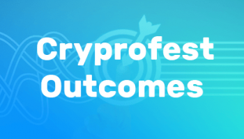 Results of CryptoFest2017online-conference