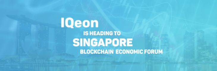 Singapore Blockchain Economic Forum Plays Host to IQeon