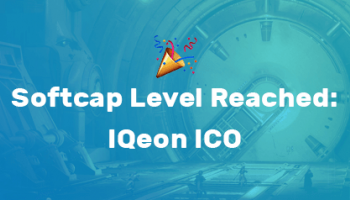 Softcap Level Reached: IQeon ICO