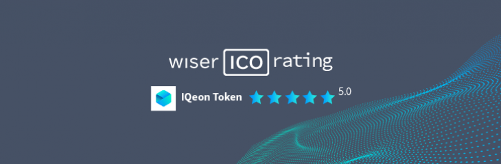 WiserICO rating platform gives IQeon highest score