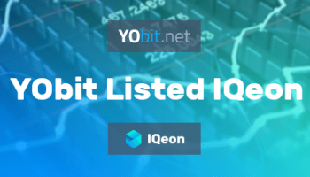 IQeon Cryptocurrency Made it to YoBit Exchange