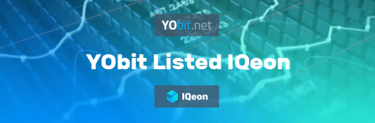 ICon cryptocurrency made it to YoBit exchange