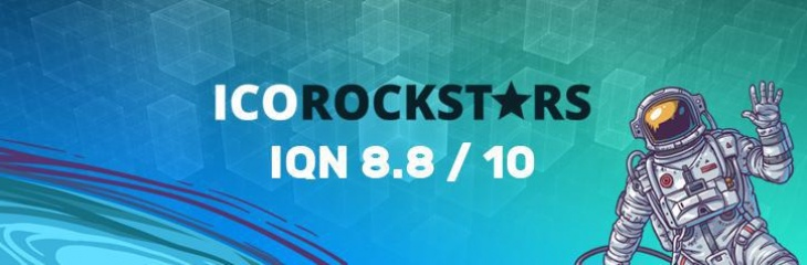ICORockstars platform highly rated IQeon intellectual functionality