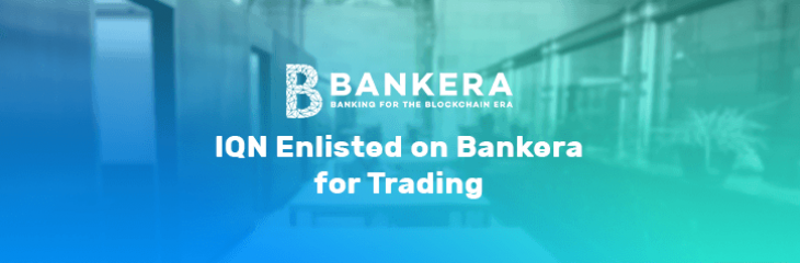 IQeon Will Be Listed on Bankera Exchange