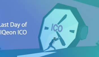 Last Day Of The Tokens Sale! ICO IQeon Is About To End!
