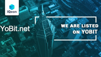 IQeon is listed on YoBitnet!