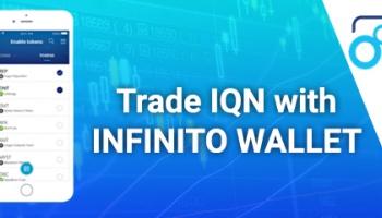 Infinito Wallet listed IQN token!