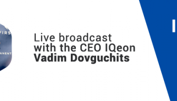 Recording of live broadcast with the CEO of the company Vadim Dovguchits