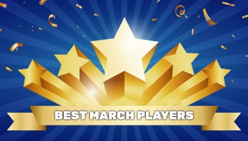 """Best player of the month"" – March results"