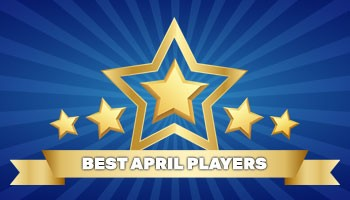 Best Player of the Month – April results