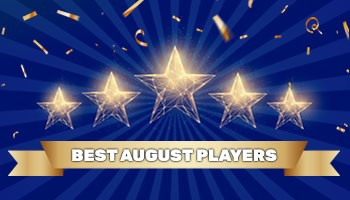 """Contest """"Player of the Month"""" - August results"""