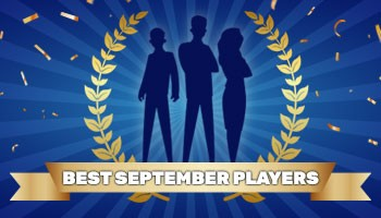 """Contest """"Player of the Month"""" – September results"""