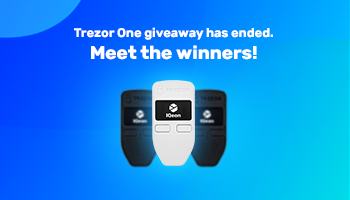 Giveaway is over. Who got the desired Trezor wallets?
