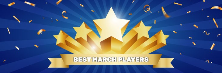 """""""Best player of the month"""" – March results"""