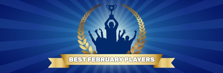 Contest for the best player of the month – February results