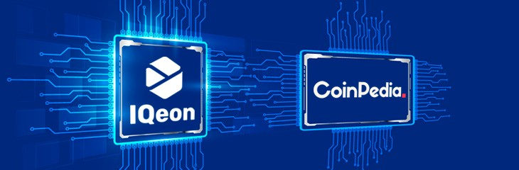 CoinPedia is the IQeon partner.