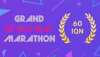 GRAND GIVEAWAY MARATHON - IQeon