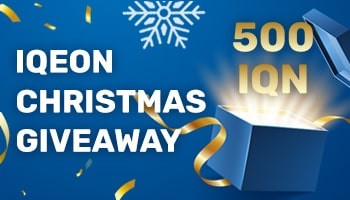 IQeon Christmas Giveaway
