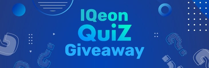 IQeon Quiz Giveaway