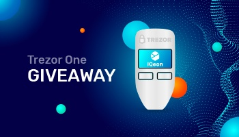 IQeon Community Event - Trezor One Giveaway!